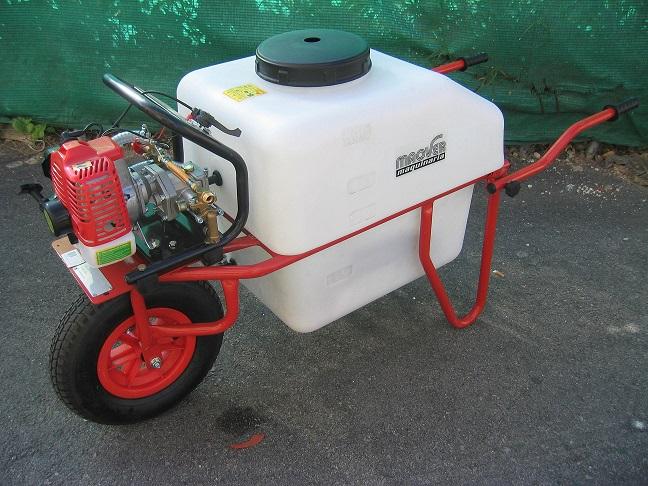 Carretilla pulverizadora 100l espaciosverdes - Precios de carretillas ...